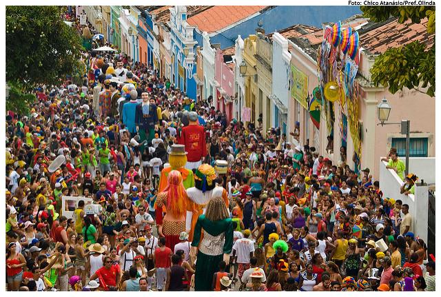 Desfile dos Bonecos Gigantes - Carnaval 2010